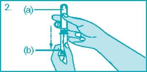 Как ввести тампон с аппликатором – шаг 2