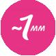 Толщина ежедневной прокладки 1 мм