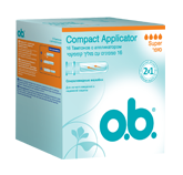 o.b.® Compact Applicator Super