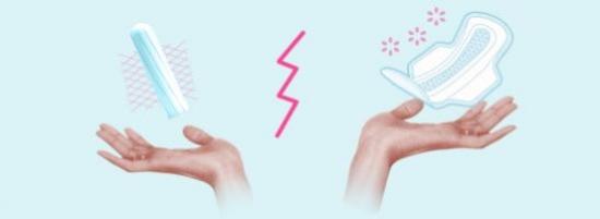 Что выбрать прокладку или тампон?